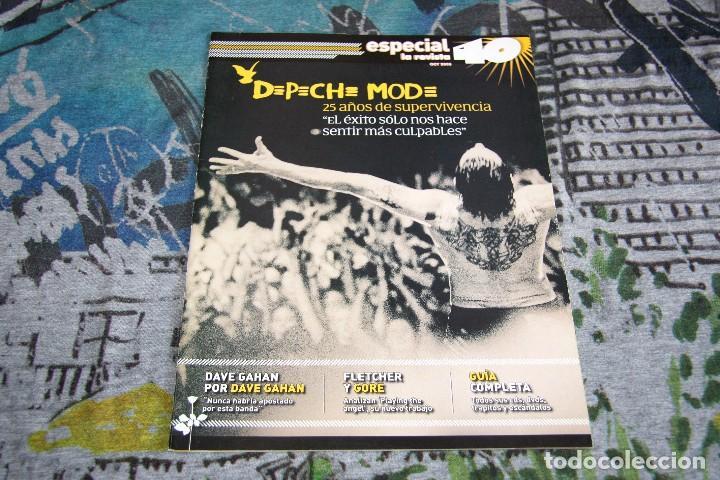 DEPECHE MODE - GUÍA COMPLETA - ESPECIAL REVISTA 40 - OCTUBRE 2005 (Música - Revistas, Manuales y Cursos)