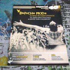 Revistas de música: DEPECHE MODE - GUÍA COMPLETA - ESPECIAL REVISTA 40 - OCTUBRE 2005. Lote 68641061