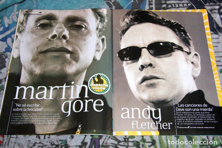 Revistas de música: Depeche Mode - Guía Completa - Especial Revista 40 - Octubre 2005 - Foto 3 - 68641061