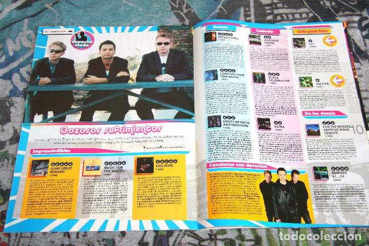 Revistas de música: Depeche Mode - Guía Completa - Especial Revista 40 - Octubre 2005 - Foto 5 - 68641061