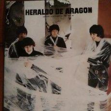 Revistas de música: SUPLEMENTO HERALDO DE ARAGÓN THE BEATLES . Lote 68660033