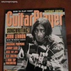 Revistas de música: REVISTA GUITAR PLAYER JOHN LENNON BEATLES . Lote 68869849