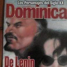 Revistas de música: REVISTA EL DOMINICAL JOHN LENNON BEATLES. Lote 68945549