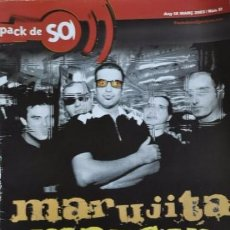 Revistas de música: PACK DE SO 51 MARÇ 2003 MARUJITA MANSON,LOS DELTONOS,KABUL BABA, CABRA MECANICA,RIP K.C,ORUJO BRUJAS. Lote 68970141
