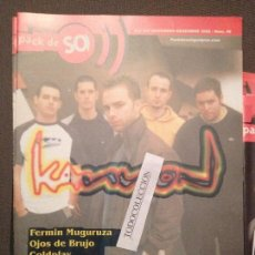 Revistas de música: PACK DE SO 49 DESEMBRE 2002: KANNON,F.MUGURUZA,COLDPLAY,TARZAN,MARTIRES COMPAS,SUEDE,FOO FIGHTERS. Lote 68970305