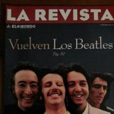 Revistas de música: LA REVISTA, AÑO 1995 Nº 2, EN PORTADA VUELVEN LOS BEATLES. Lote 68975305