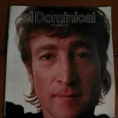 Revistas de música: REVISTA DOMINICAL LENNON BEATLES. Lote 68975617
