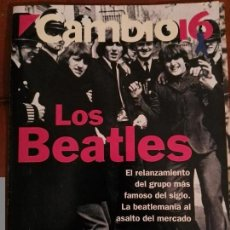 Revistas de música: REVISTA CAMBIO 16 THE BEATLES INCLUYE PÓSTER GIGANTE . Lote 68983233
