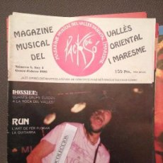 Revistas de música: PACK DE SO 1 GENER 1995,GRUPS ROCA DEL VALLES,RUN,SARAU 94,BUDELLAM,TRO,SANDRA MARCH,XESCO BOIX. Lote 68971025