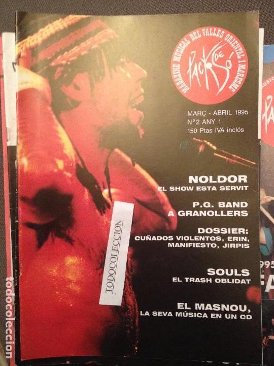 PACK DE SO 2 ABRIL 1995,NOLDOR,PG BAND,CUÑADOS VIOLENTOS,SOULS,TRASH,ERIN,JIRPIS,MANIFIESTO... (Música - Revistas, Manuales y Cursos)