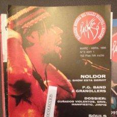 Revistas de música: PACK DE SO 2 ABRIL 1995,NOLDOR,PG BAND,CUÑADOS VIOLENTOS,SOULS,TRASH,ERIN,JIRPIS,MANIFIESTO.... Lote 68971157