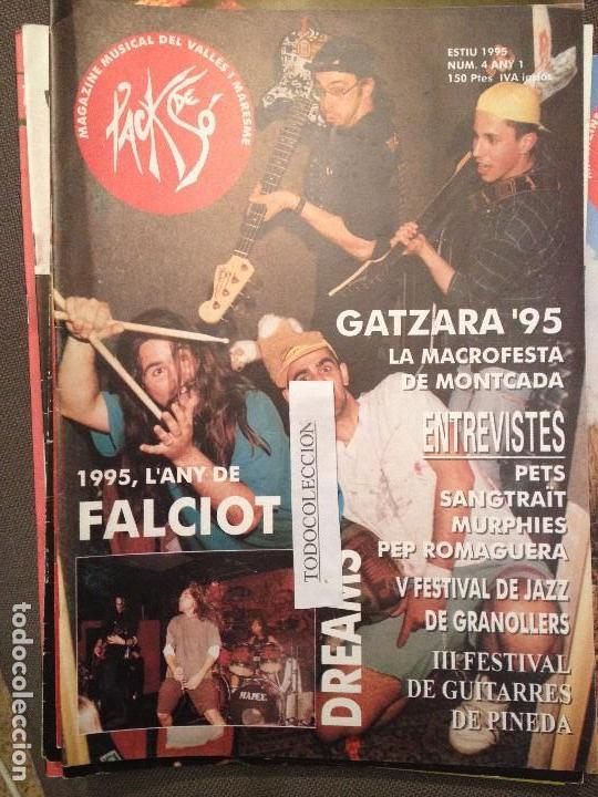 PACK DE SO 4 ESTIU 1995,PETS, SANGTRAIT,MURPHIES,PEP ROMAGUERA,FALZIOT,SOVIETS (Música - Revistas, Manuales y Cursos)