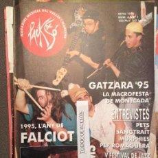 Revistas de música: PACK DE SO 4 ESTIU 1995,PETS, SANGTRAIT,MURPHIES,PEP ROMAGUERA,FALZIOT,SOVIETS. Lote 68971265