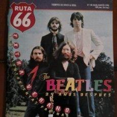 Revistas de música: REVISTA RUTA 66 THE BEATLES . Lote 69288929