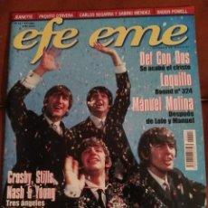 Revistas de música: REVISTA EFE EME THE BEATLES . Lote 69289401