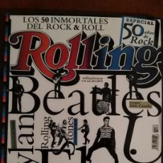 Revistas de música: REVISTA ROLLING STONE THE BEATLES . Lote 69289781