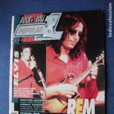 Revistas de música: POPULAR 1. REM Y ELVIS PRESLEY EN PORTADA Nº 228 - OCTUBRE 92 PDELUXE. Lote 69525749