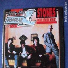Revistas de música: POPULAR 1. ROLLING STONES EN PORTADA Nº 251 - SETIEMBRE 1994 PDELUXE. Lote 69529657