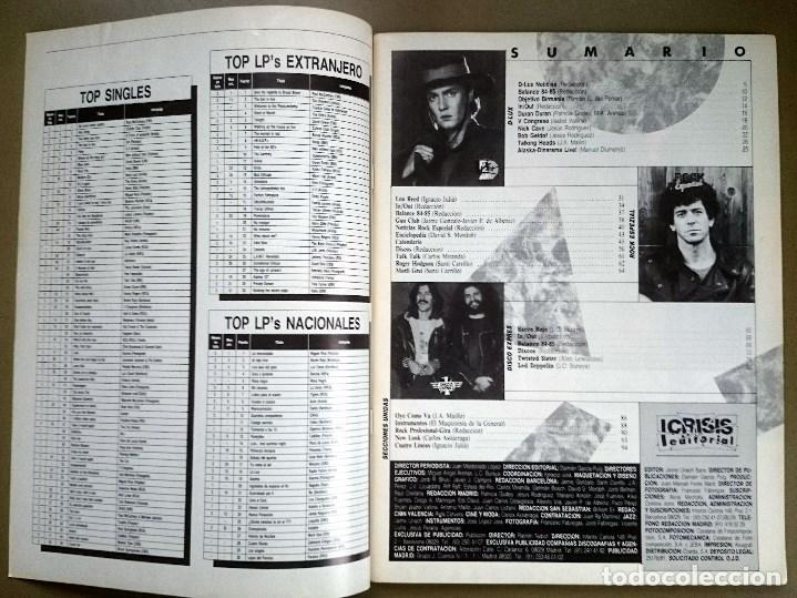 Revistas de música: Rock de Lux nº 3, Enero 1985. Alaska, Duran Duran, Lou Reed, Barón Rojo, Talk Talk, Twisted Sister - Foto 2 - 69709241