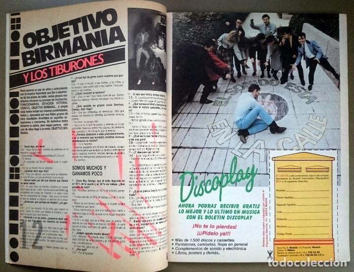 Revistas de música: Rock de Lux nº 3, Enero 1985. Alaska, Duran Duran, Lou Reed, Barón Rojo, Talk Talk, Twisted Sister - Foto 3 - 69709241