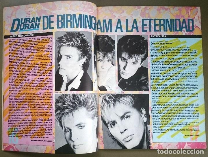 Revistas de música: Rock de Lux nº 3, Enero 1985. Alaska, Duran Duran, Lou Reed, Barón Rojo, Talk Talk, Twisted Sister - Foto 5 - 69709241