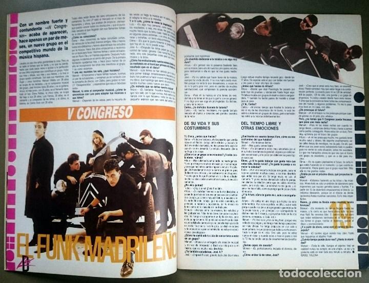 Revistas de música: Rock de Lux nº 3, Enero 1985. Alaska, Duran Duran, Lou Reed, Barón Rojo, Talk Talk, Twisted Sister - Foto 6 - 69709241