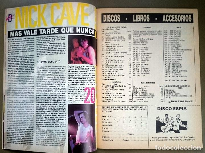Revistas de música: Rock de Lux nº 3, Enero 1985. Alaska, Duran Duran, Lou Reed, Barón Rojo, Talk Talk, Twisted Sister - Foto 7 - 69709241