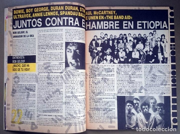 Revistas de música: Rock de Lux nº 3, Enero 1985. Alaska, Duran Duran, Lou Reed, Barón Rojo, Talk Talk, Twisted Sister - Foto 8 - 69709241