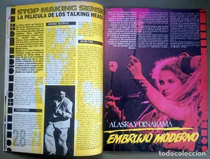 Revistas de música: Rock de Lux nº 3, Enero 1985. Alaska, Duran Duran, Lou Reed, Barón Rojo, Talk Talk, Twisted Sister - Foto 9 - 69709241
