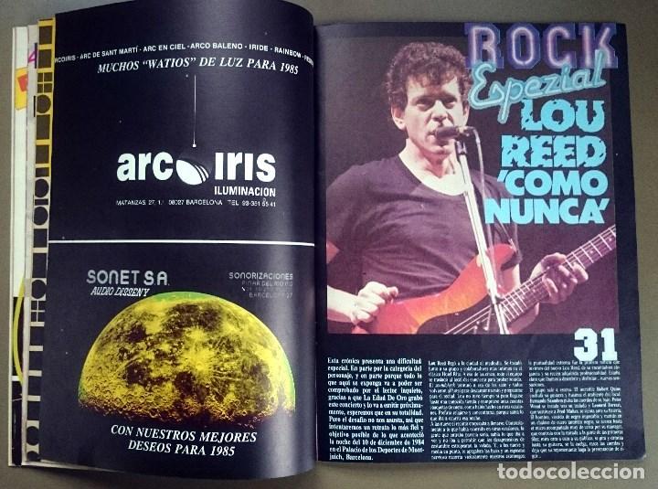 Revistas de música: Rock de Lux nº 3, Enero 1985. Alaska, Duran Duran, Lou Reed, Barón Rojo, Talk Talk, Twisted Sister - Foto 10 - 69709241
