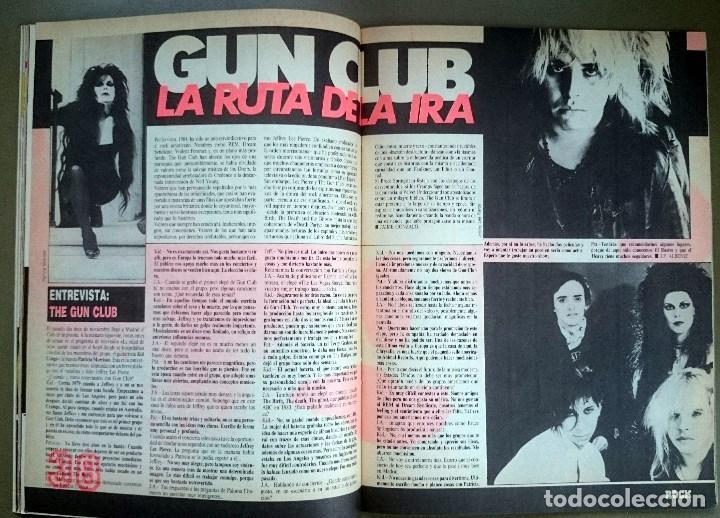 Revistas de música: Rock de Lux nº 3, Enero 1985. Alaska, Duran Duran, Lou Reed, Barón Rojo, Talk Talk, Twisted Sister - Foto 11 - 69709241