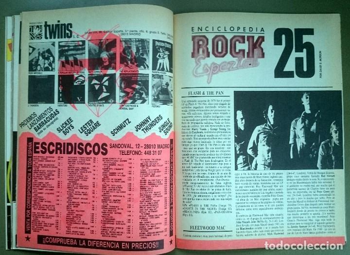 Revistas de música: Rock de Lux nº 3, Enero 1985. Alaska, Duran Duran, Lou Reed, Barón Rojo, Talk Talk, Twisted Sister - Foto 12 - 69709241
