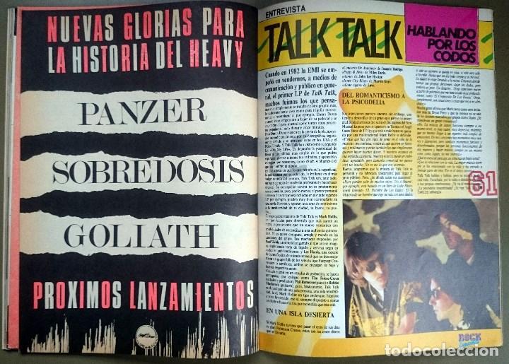 Revistas de música: Rock de Lux nº 3, Enero 1985. Alaska, Duran Duran, Lou Reed, Barón Rojo, Talk Talk, Twisted Sister - Foto 14 - 69709241