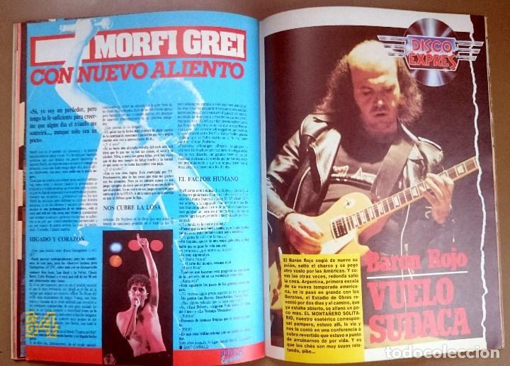 Revistas de música: Rock de Lux nº 3, Enero 1985. Alaska, Duran Duran, Lou Reed, Barón Rojo, Talk Talk, Twisted Sister - Foto 16 - 69709241