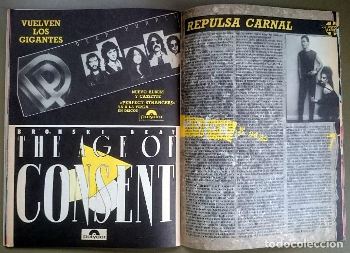 Revistas de música: Rock de Lux nº 3, Enero 1985. Alaska, Duran Duran, Lou Reed, Barón Rojo, Talk Talk, Twisted Sister - Foto 17 - 69709241