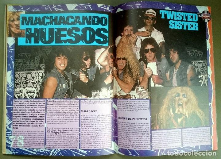 Revistas de música: Rock de Lux nº 3, Enero 1985. Alaska, Duran Duran, Lou Reed, Barón Rojo, Talk Talk, Twisted Sister - Foto 18 - 69709241