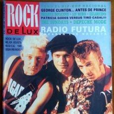 Revistas de música: ROCK DE LUX Nº 63, ABRIL 1990. RADIO FUTURA, DEPECHE MODE, TINO CASAL, THE SUNDAYS, GEORGE CLINTON . Lote 70126221