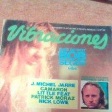 Revistas de música: REVISTA VIBRACIONES N'60 AÑO 1979.. Lote 70586966