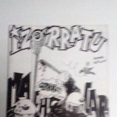 Revistas de música: IZORRATU FANZINE (BASAURI-BIZKAIA) ENTREVISTA A KORTATU/RAMONES/BERLIN/MCD/COMICS. Lote 71598059