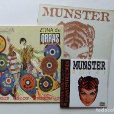 Revistas de música: ZONA DE OBRAS 3 FERMIN MUGURUZA FITO PAEZ KILLER BARBIES PARKINSON DC LOS VALENDAS MUNSTER RECORDS. Lote 71742119