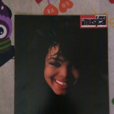 Revistas de música: REVISTA EL GRAN MUSICAL ESPECIAL JANET JACKSON. Lote 72030791