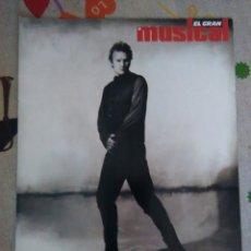 Revistas de música: REVISTA EL GRAN MUSICAL ESPECIAL STING. Lote 72032097