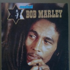Revistas de música: BOB MARLEY: SUPLEMENTO DE 16 PÁGINAS DE EL GRAN MUSICAL Nº 335, FEBRERO 1991.. Lote 74150635