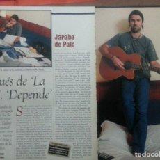 Revistas de música: JARABE DE PALO COLECCIÓN DE ARTÍCULOS, REPORTAJES Y REVISTA.. Lote 74358207