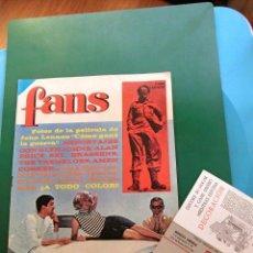 Revistas de música: BEATLES JOHN LENNON COMO GANE LA GUERRA REVISTA ORIGINAL ESPAÑA 1967 COMPLETA POSTER. Lote 74386003
