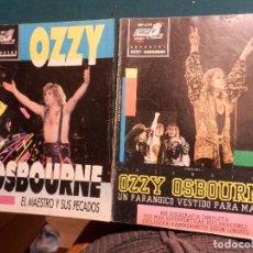 Revistas de música: OZZY OSBOURNE - POPULAR 1 ESPECIAL A 79 + A 93 - LOTE DE DOS REVISTAS (BLACK SABBATH). Lote 74661711