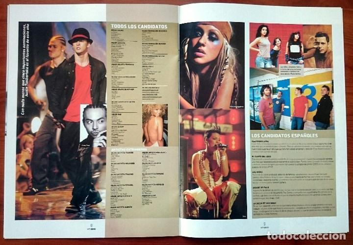 Revistas de música: MTV Europe Music Awards Edinburgh 2003, 12 pág. Christina Aguilera, Beyoncé, Pink, Timberlake - Foto 3 - 74835727