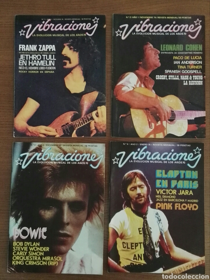 REVISTA VIBRACIONES (Música - Revistas, Manuales y Cursos)
