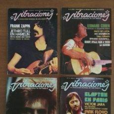 Revistas de música: REVISTA VIBRACIONES. Lote 75391410