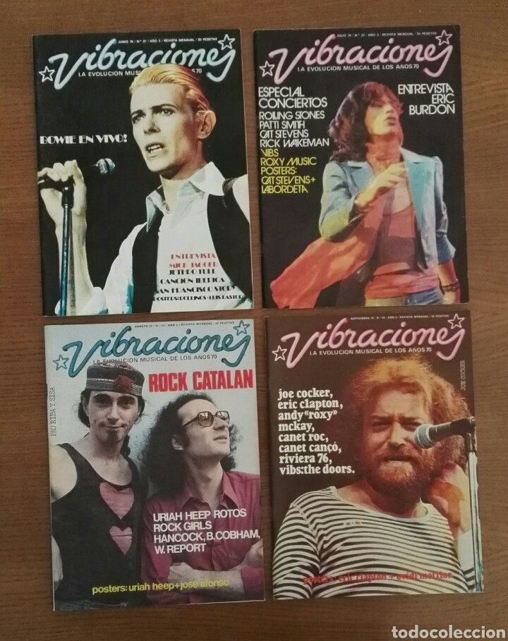 Revistas de música: REVISTA VIBRACIONES - Foto 6 - 75391410
